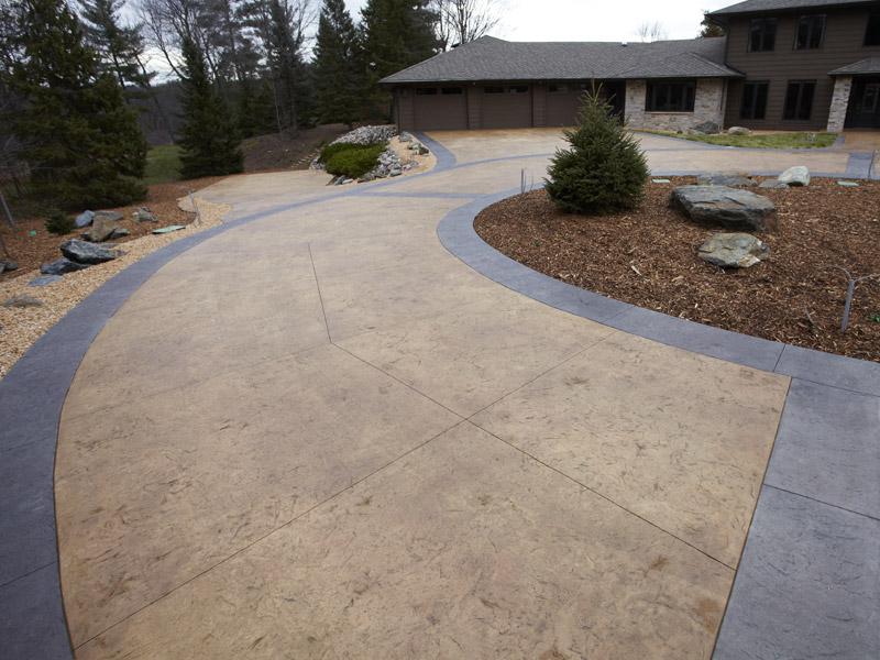 Concrete driveway Orange County near me