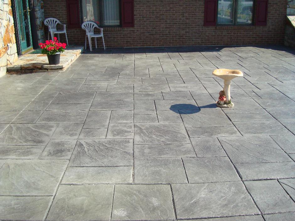 stamped concrete in orange county