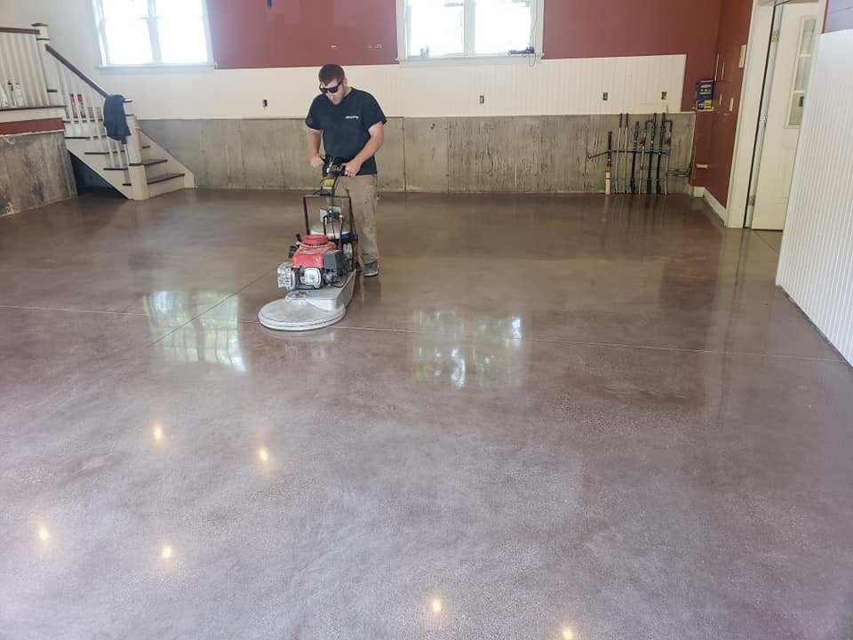 Concrete polishing Orange County